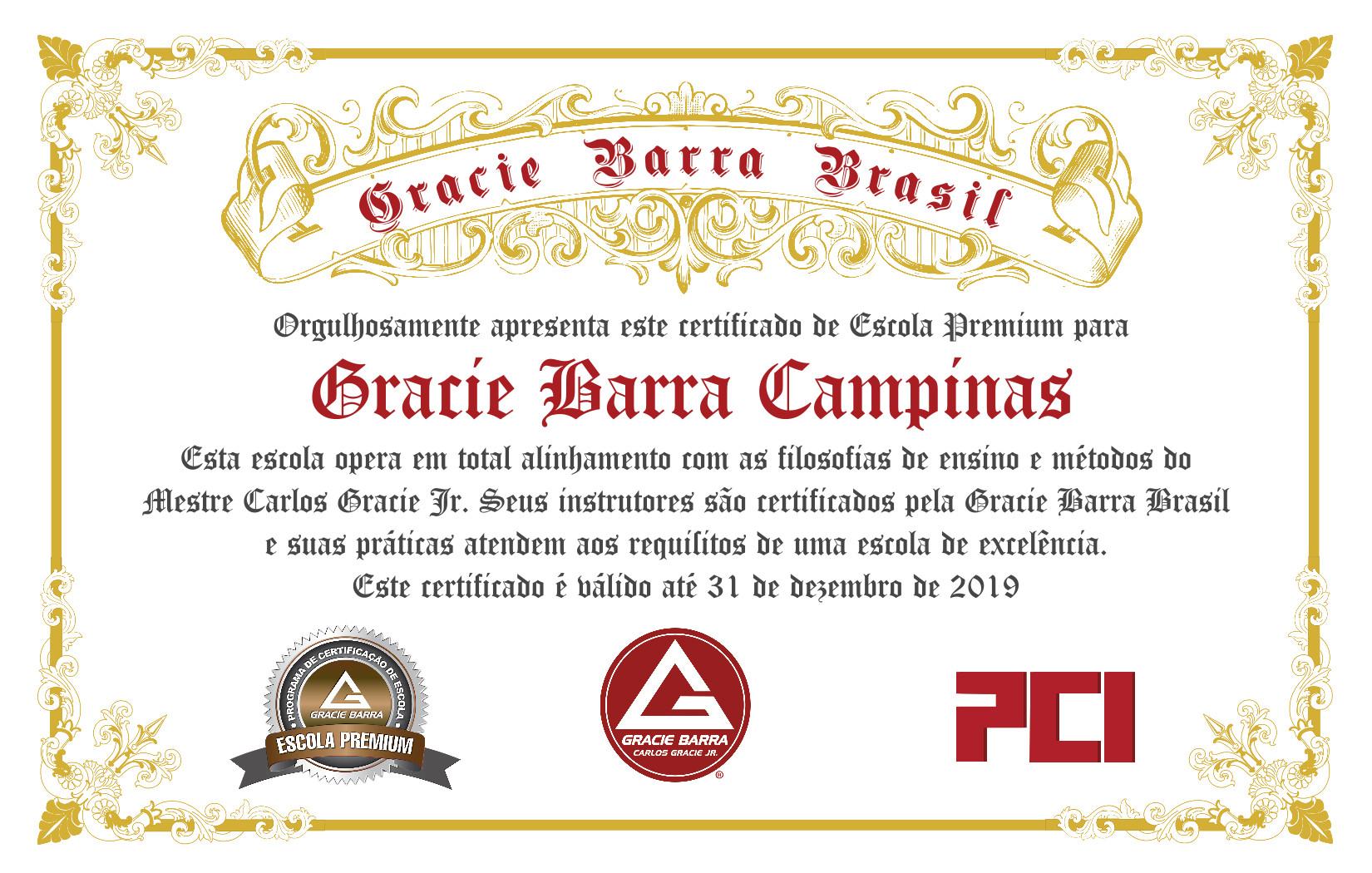 Gracie Barra Campinas - Escola Premium